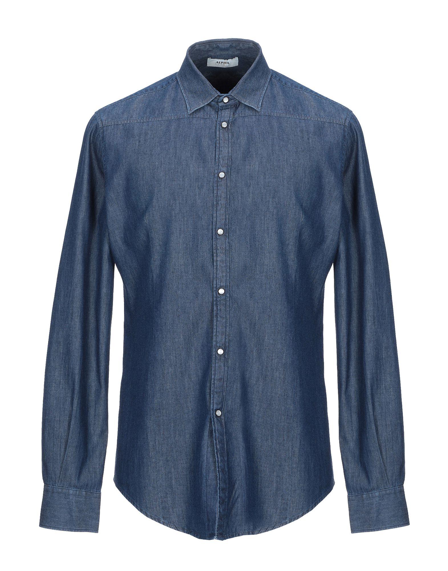 купить ALPHA STUDIO Джинсовая рубашка по цене 8500 рублей