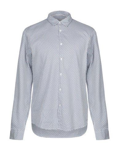 Купить Pубашка от INDIVIDUAL лазурного цвета