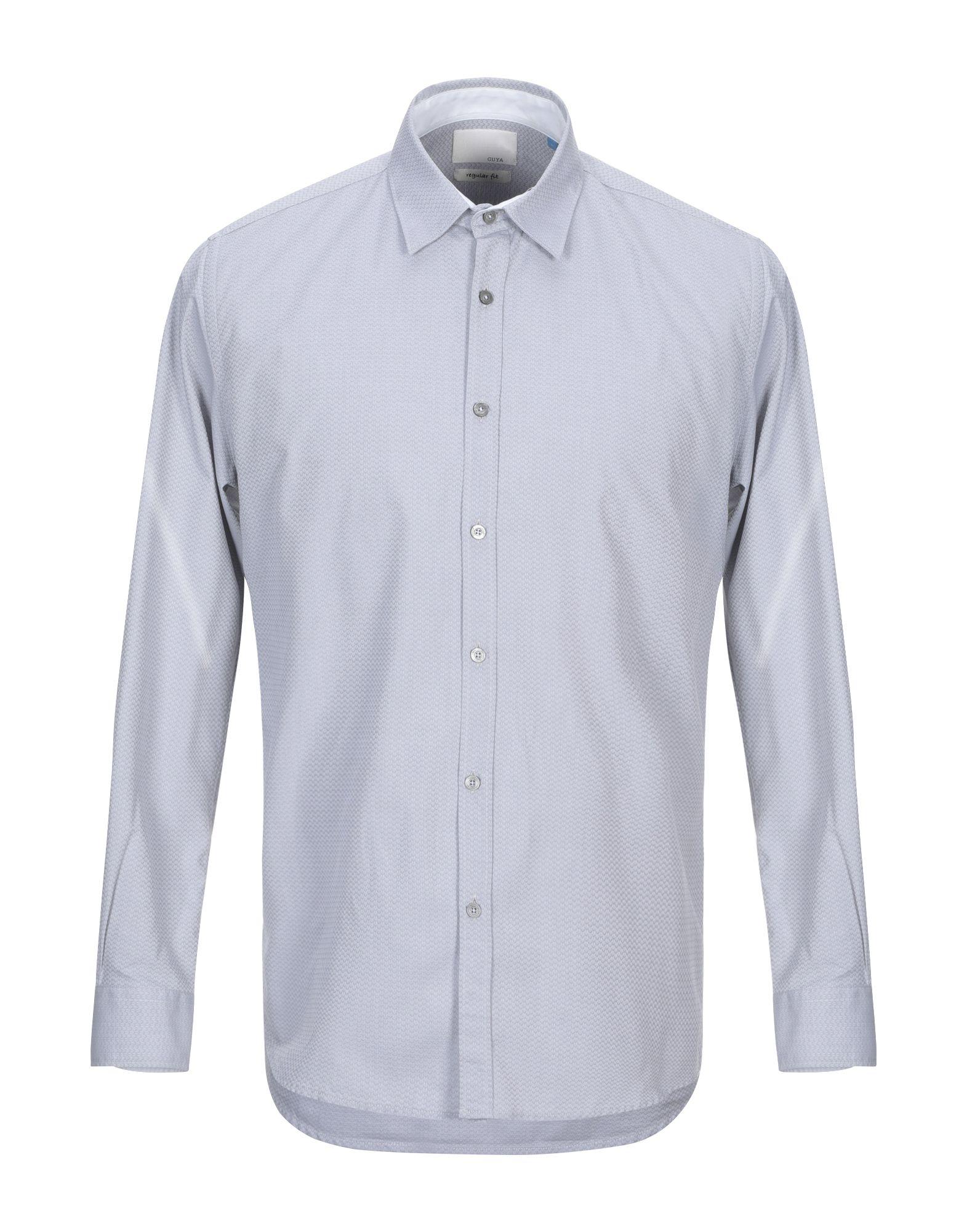 GUYA G. Pубашка guya g джинсовая рубашка
