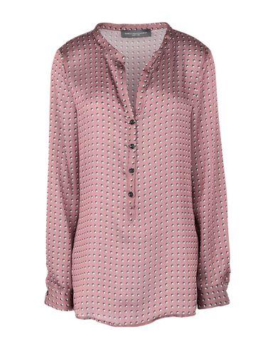 Фото - Женскую блузку CARLA MONTANARINI светло-коричневого цвета