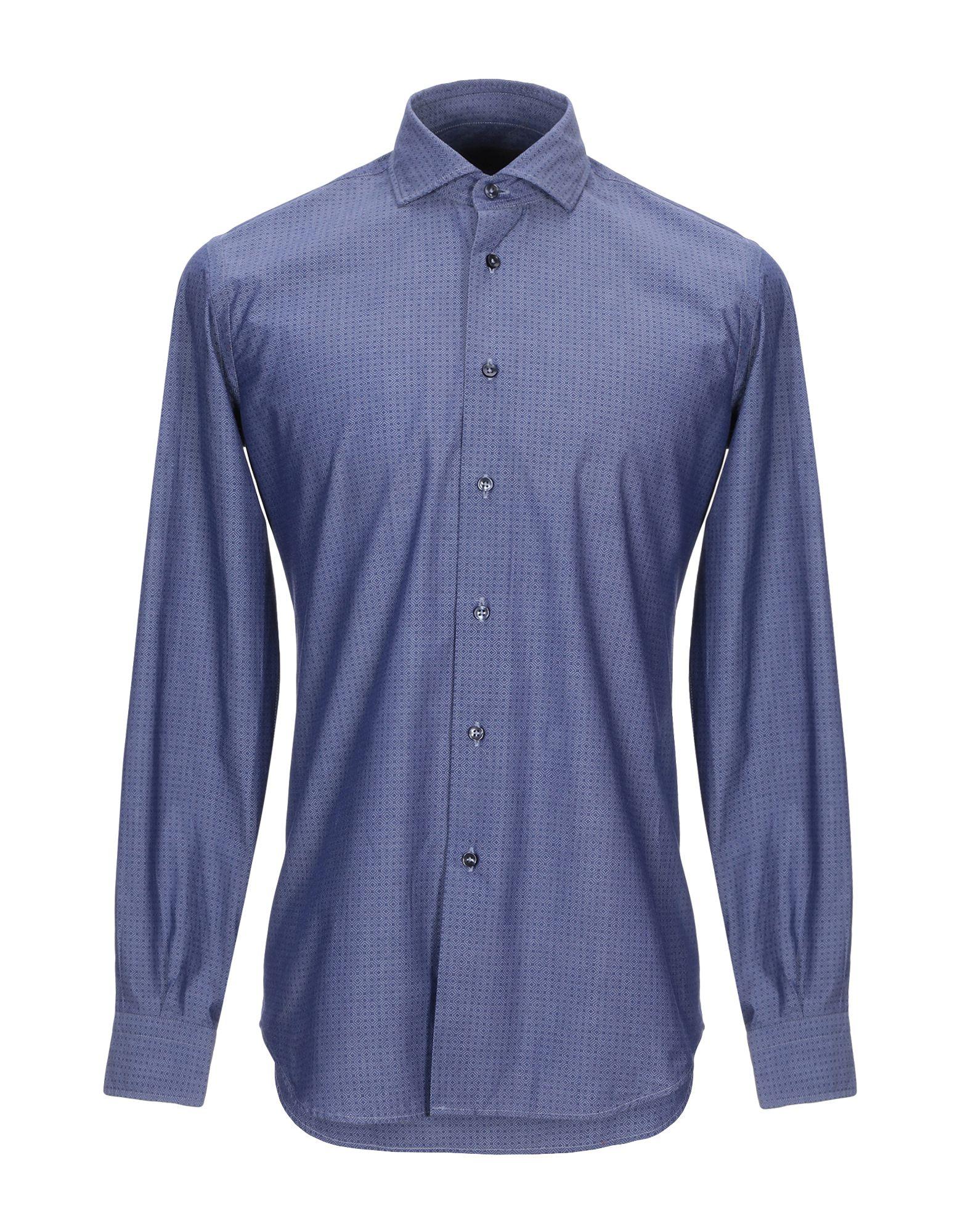 LUXURY Джинсовая рубашка