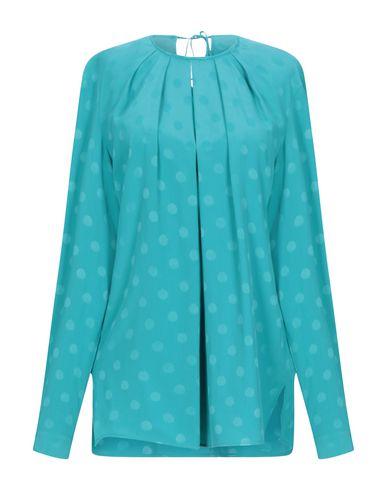 Фото - Женскую блузку  бирюзового цвета