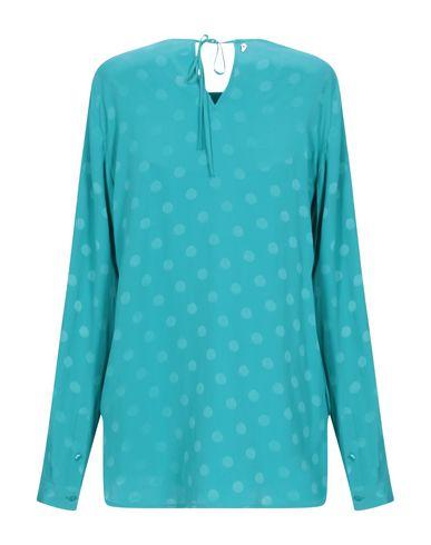 Фото 2 - Женскую блузку  бирюзового цвета