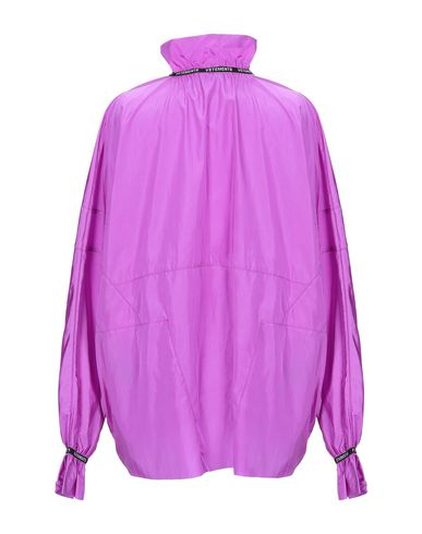 Фото 2 - Pубашка от VETEMENTS светло-фиолетового цвета