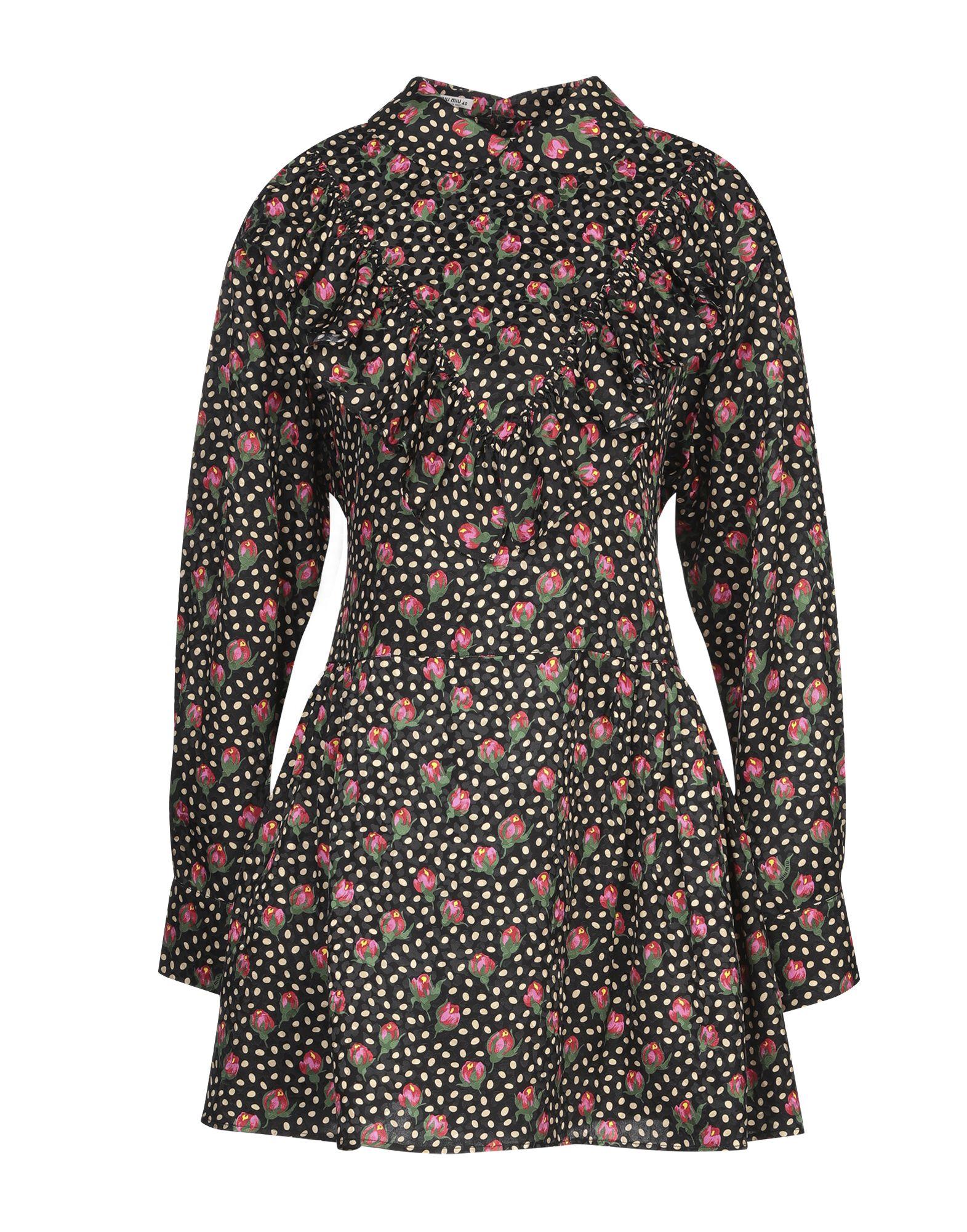 MIU MIU Короткое платье цена и фото