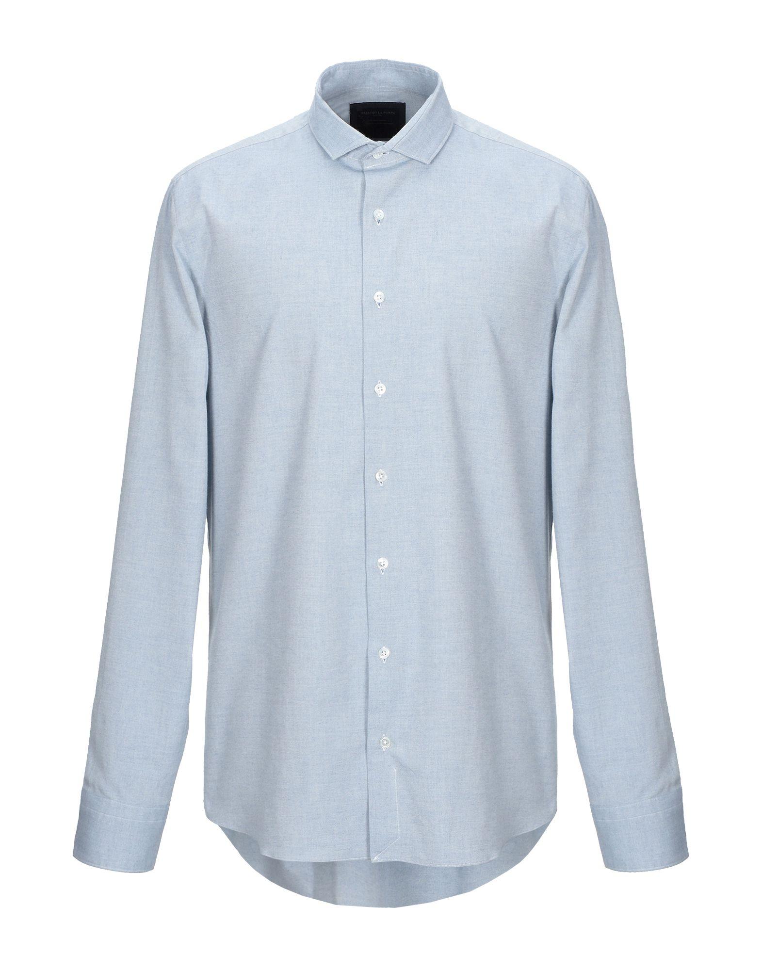 Фото - MASSIMO LA PORTA Pубашка massimo la porta джинсовая рубашка