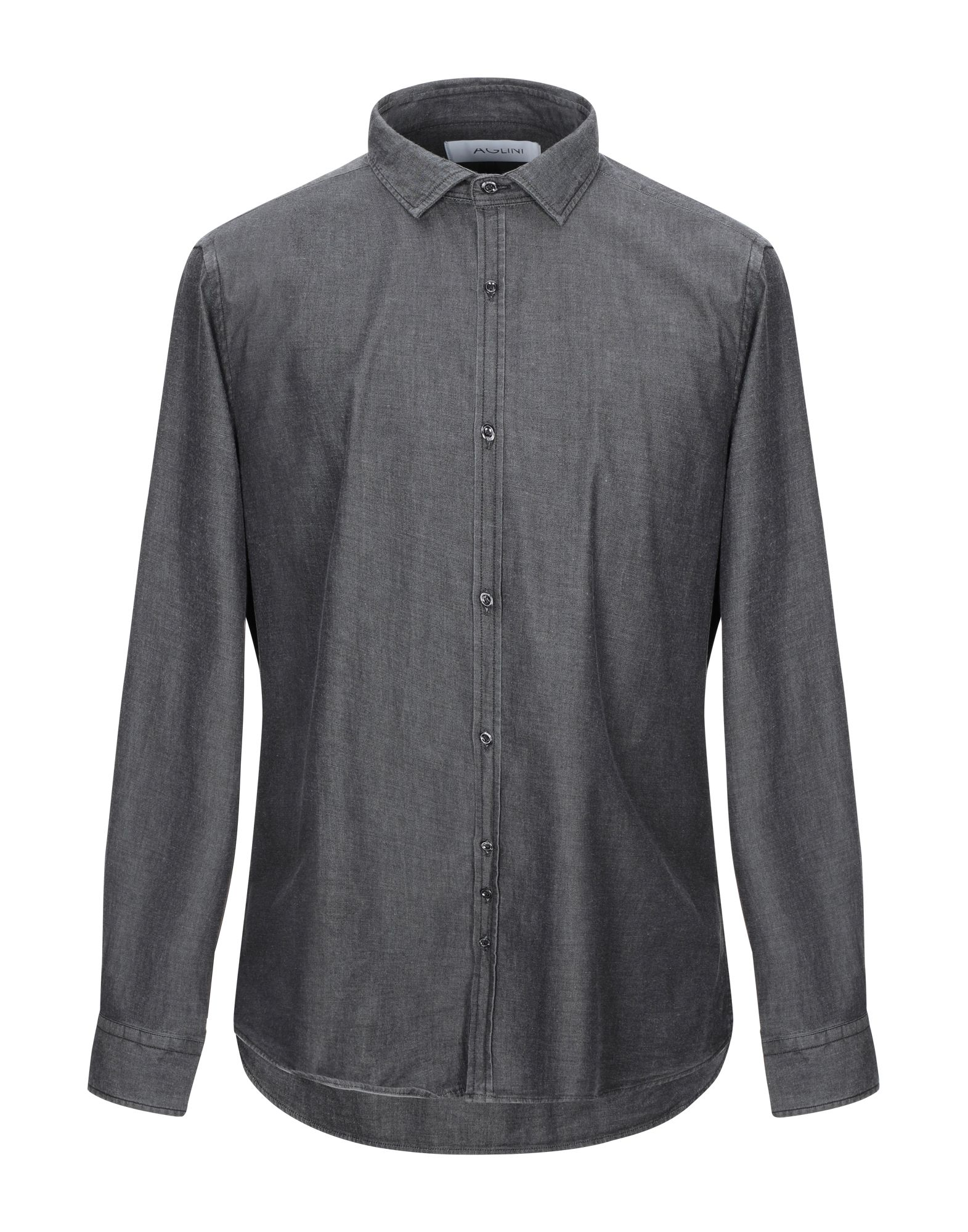 AGLINI Джинсовая рубашка burberry джинсовая рубашка
