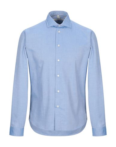 Фото - Pубашка от MICHAEL COAL небесно-голубого цвета
