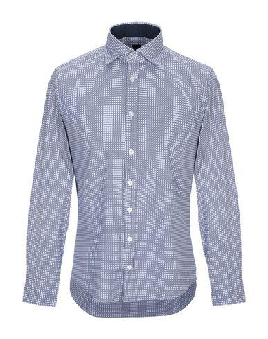 Купить Pубашка от BASTONCINO темно-синего цвета