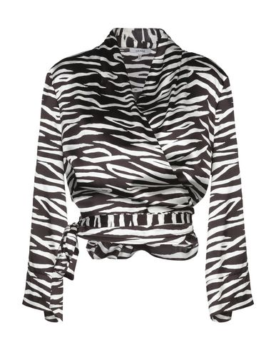 Фото - Женскую блузку  темно-коричневого цвета