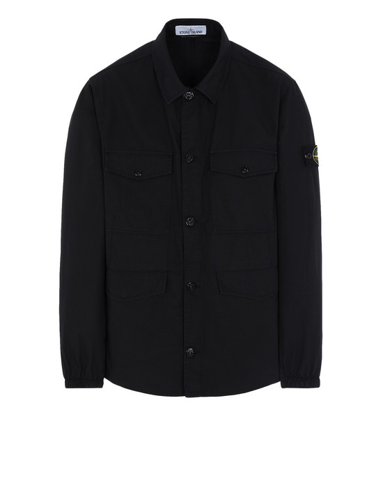 STONE ISLAND OVER SHIRT 12707 STRUCTURED COTTON