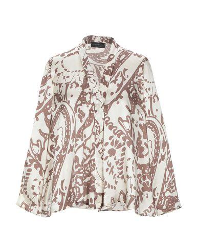 Купить Pубашка от STEFANIA CARRERA цвет слоновая кость