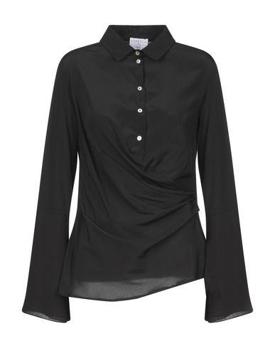 Фото - Pубашка от STRETCH by PAULIE черного цвета