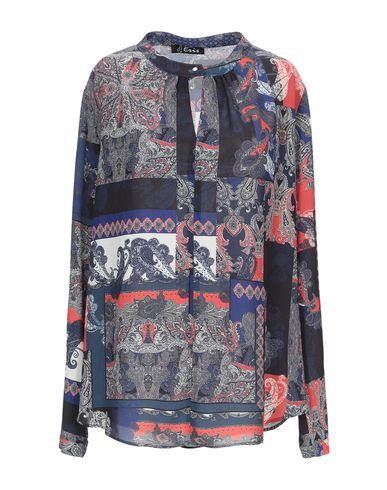 Купить Женскую блузку ERIS темно-синего цвета