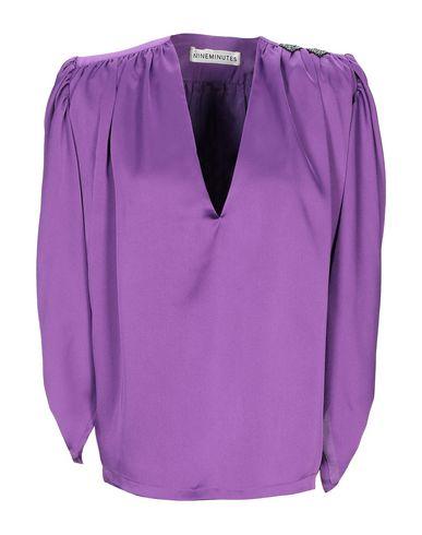 Фото - Женскую блузку NINEMINUTES фиолетового цвета