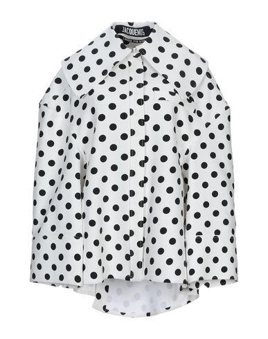 Фото - Легкое пальто от JACQUEMUS белого цвета