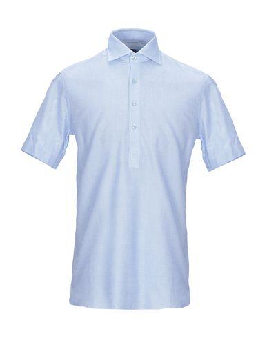Купить Pубашка лазурного цвета
