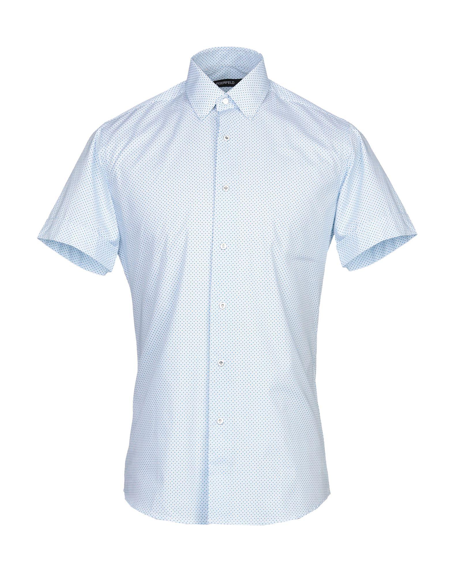 KARL LAGERFELD Pубашка karl lagerfeld pубашка