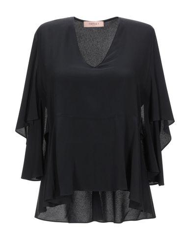 Фото - Женскую блузку TWINSET черного цвета