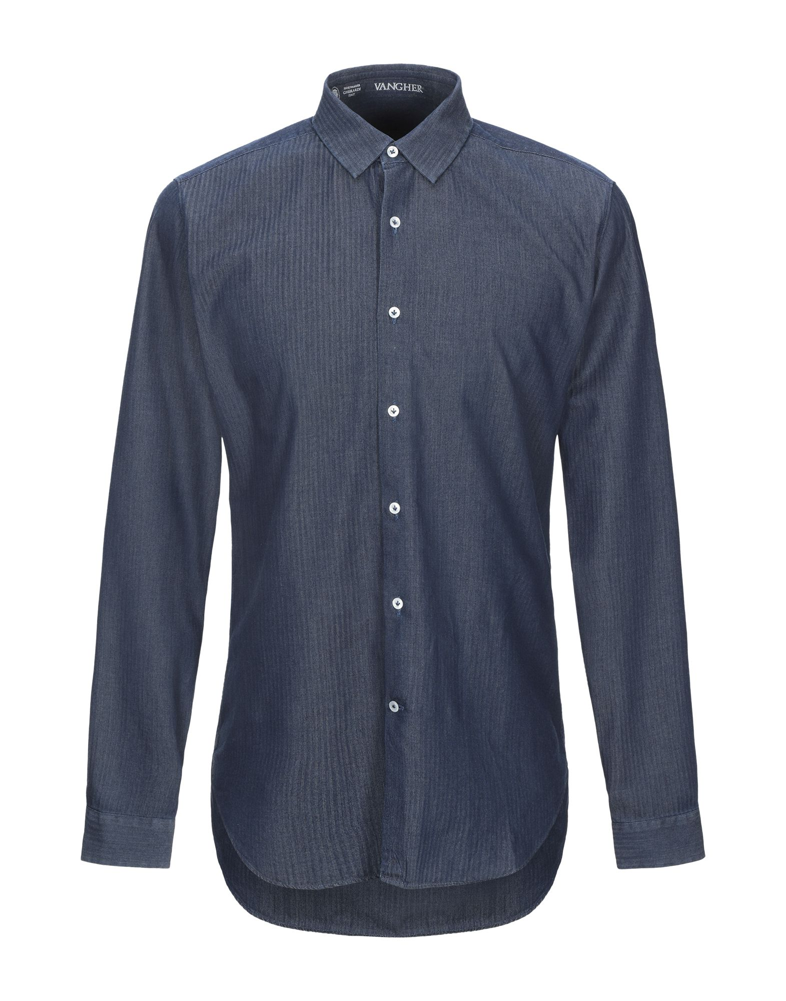 VANGHER N.7 Джинсовая рубашка рубашка xarizmashref page 7