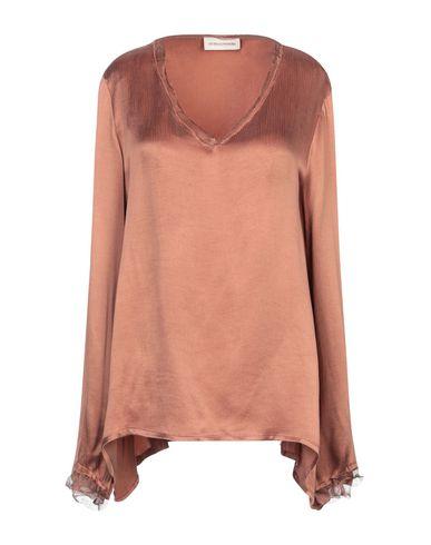 Фото - Женскую блузку SEVEN DAY WONDER коричневого цвета