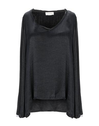 Фото - Женскую блузку SEVEN DAY WONDER черного цвета