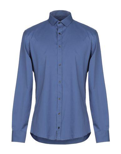 Купить Pубашка от SSEINSE грифельно-синего цвета