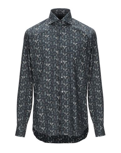 Фото - Pубашка от ALESSANDRO GHERARDI цвет стальной серый