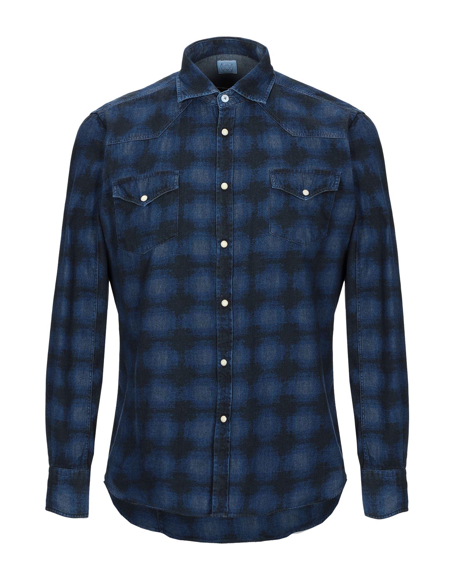 ALESSANDRO GHERARDI Джинсовая рубашка цена 2017