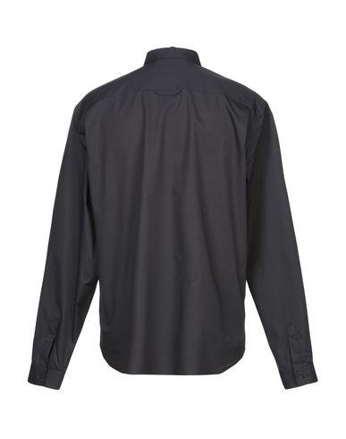 Фото 2 - Pубашка черного цвета