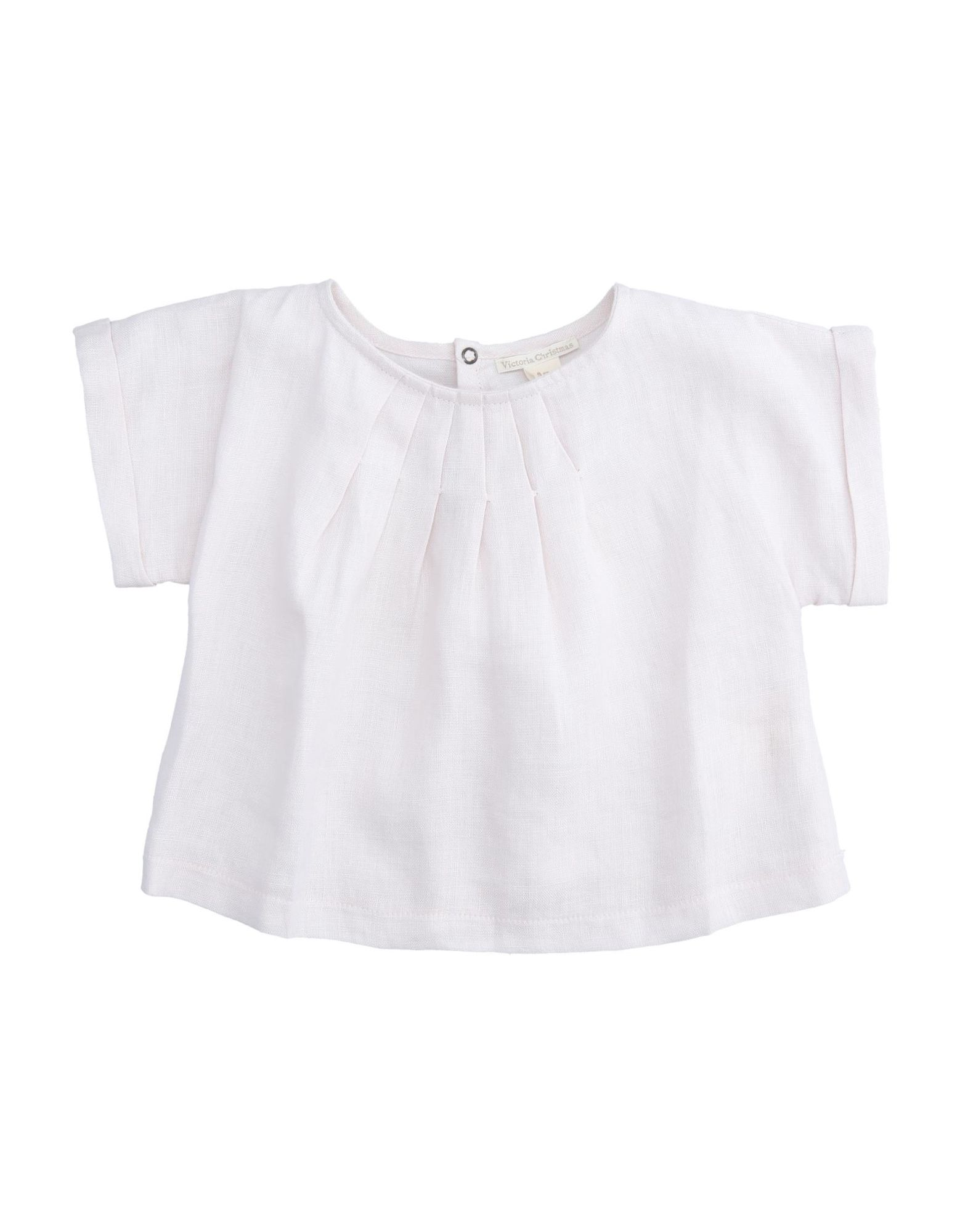 Victoria Christmas Kids' Blouses In Light Pink