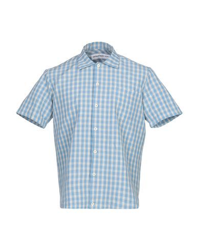 Фото - Pубашка от DEPARTMENT 5 пастельно-синего цвета