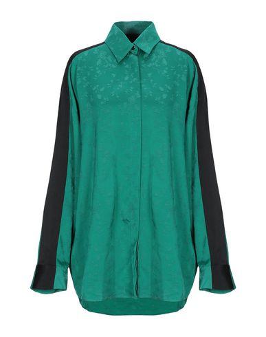 Фото - Pубашка изумрудно-зеленого цвета