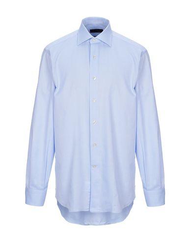Фото - Pубашка от DOMENICO TAGLIENTE небесно-голубого цвета