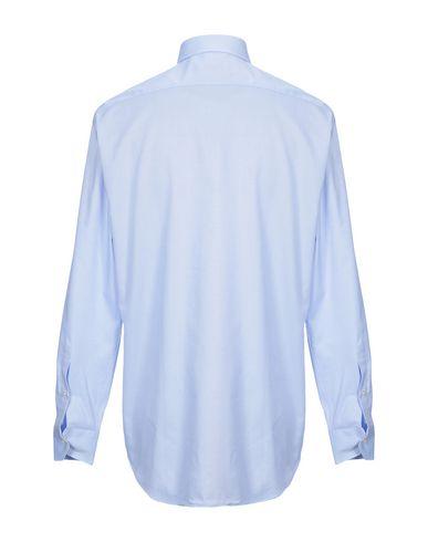 Фото 2 - Pубашка от DOMENICO TAGLIENTE небесно-голубого цвета