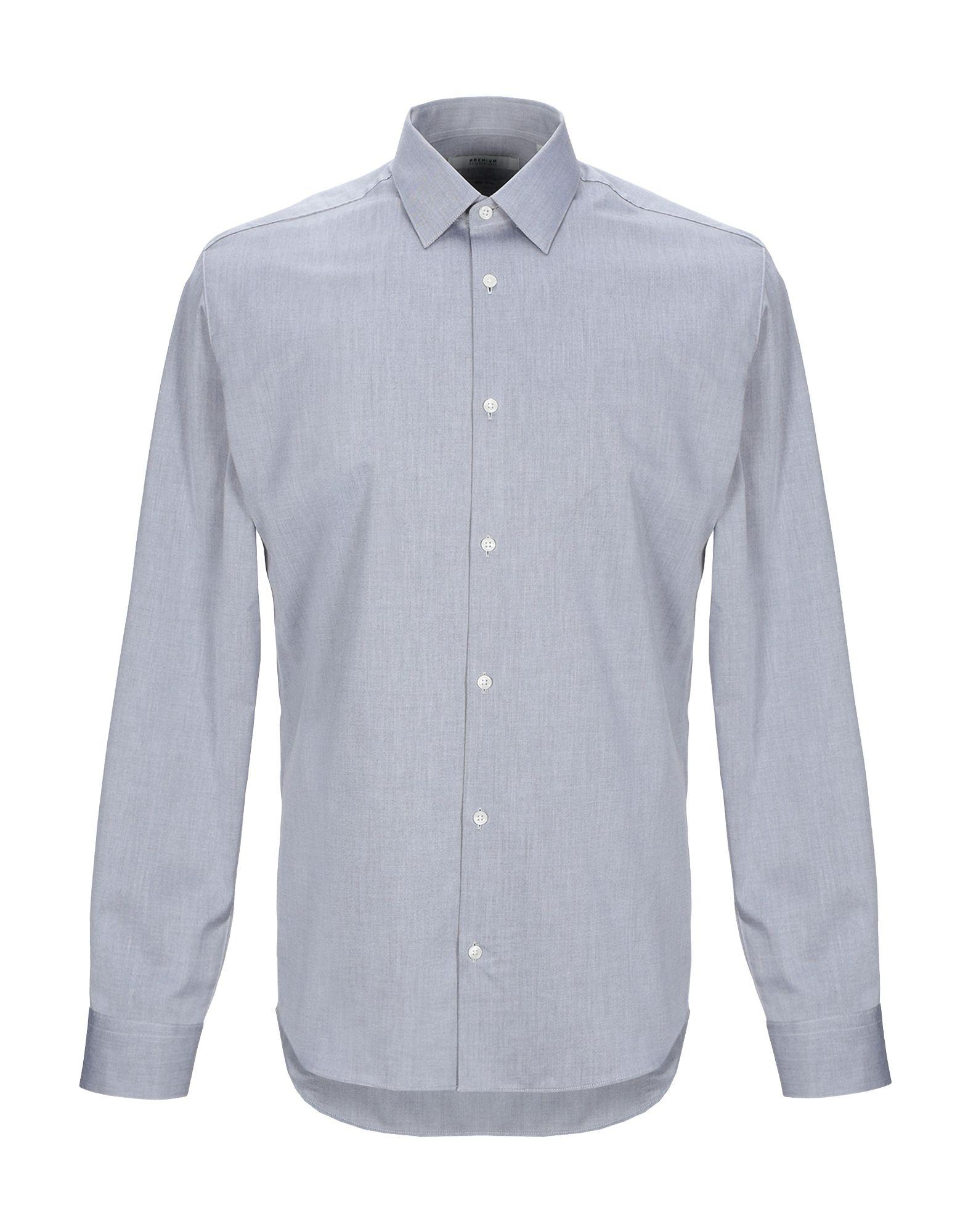 《送料無料》JACK & JONES PREMIUM メンズ シャツ ライトグレー M コットン 100%