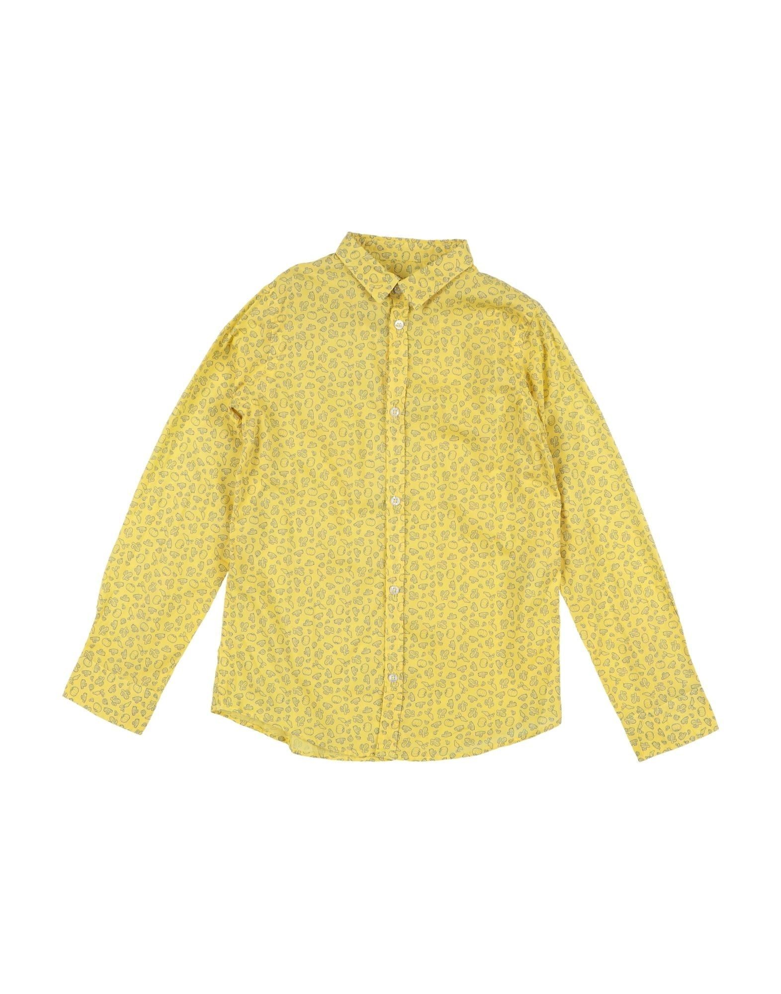 Gas Kids' Shirts In Yellow