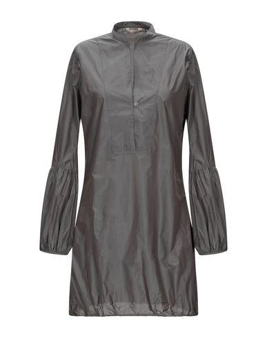 Фото - Женскую блузку  свинцово-серого цвета