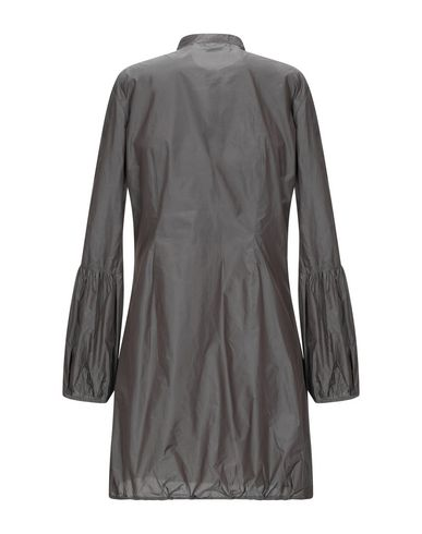 Фото 2 - Женскую блузку  свинцово-серого цвета