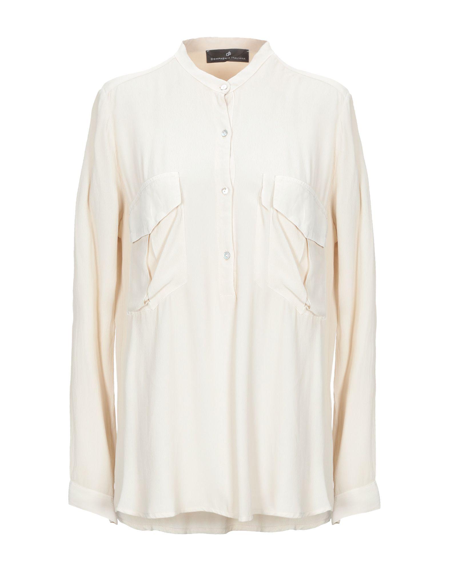цена COMPAGNIA ITALIANA Pубашка в интернет-магазинах
