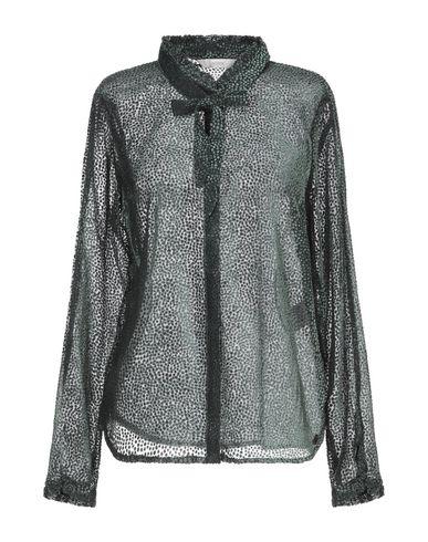 Купить Pубашка от NÜMPH темно-зеленого цвета