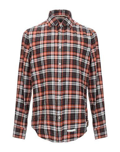 Купить Pубашка от TINTORIA MATTEI 954 цвет какао