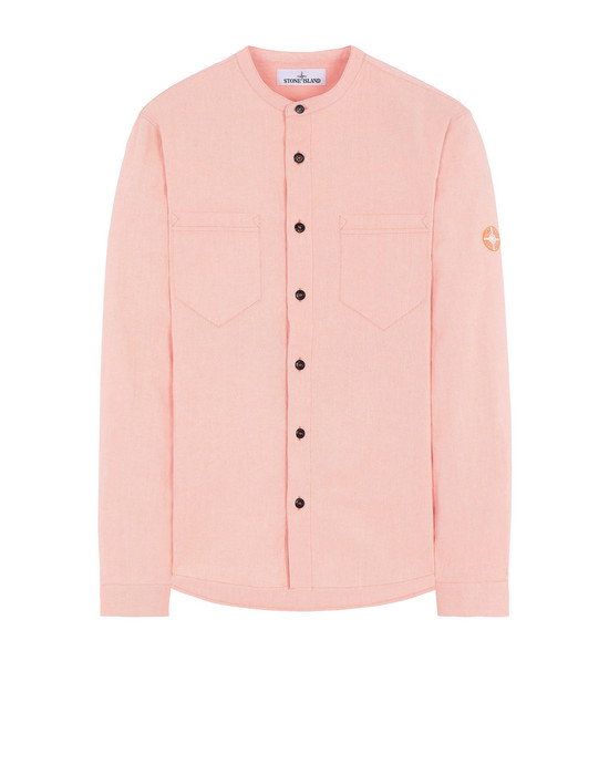 STONE ISLAND 11305 Long sleeve shirt Man Orange