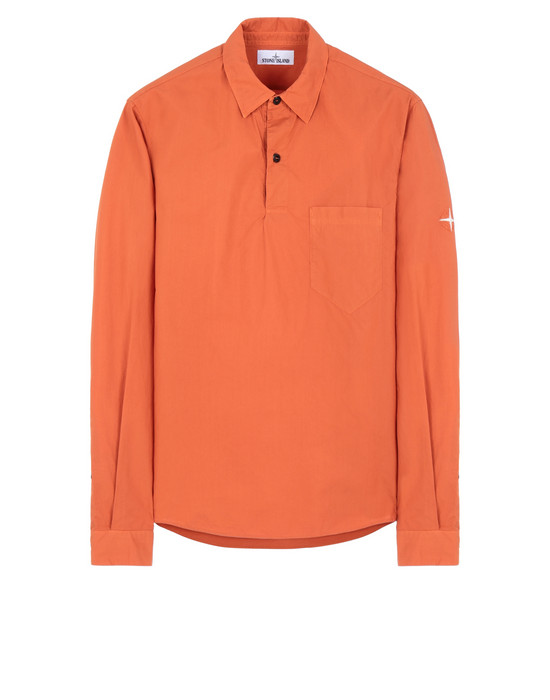 STONE ISLAND 11601 Long sleeve shirt Man Orange