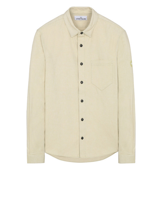 STONE ISLAND 12505 Long sleeve shirt Man Pistachio Green