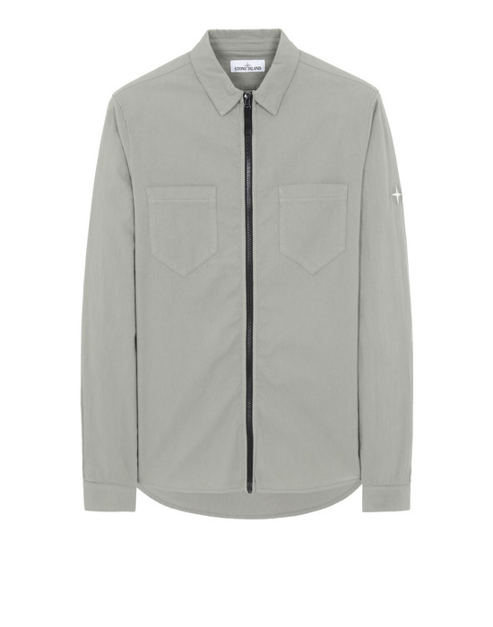 STONE ISLAND 12403 Long sleeve shirt Man Mud
