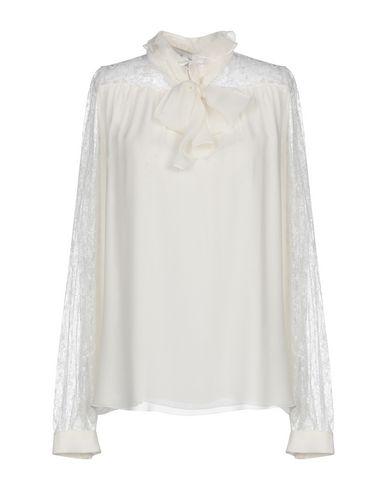 Фото - Женскую блузку GIAMBATTISTA VALLI цвет слоновая кость