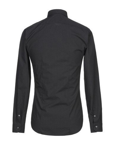 Фото 2 - Pубашка от BRIAN DALES цвет стальной серый