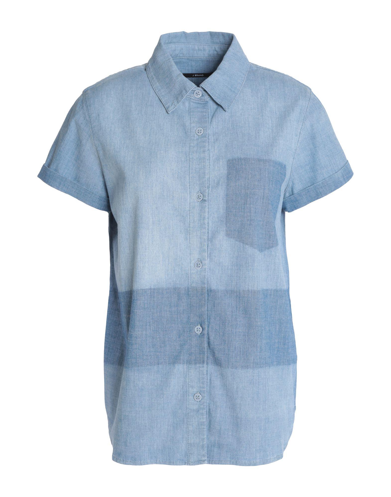 J BRAND Джинсовая рубашка low brand джинсовая рубашка