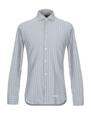 Купить Pубашка от TINTORIA MATTEI 954 светло-серого цвета